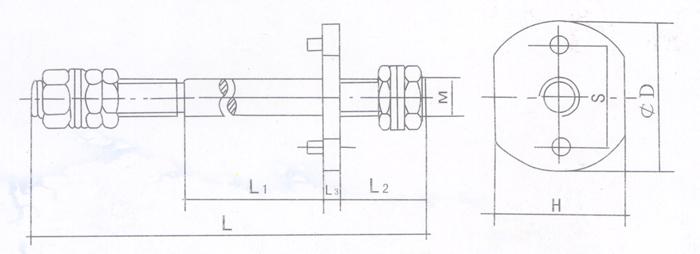 中国网库 电工电气 配电输电设备 配电变压器 导电杆铲头1  低压导电